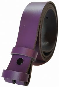 25 mm Purple Snap Fit Leather Belt